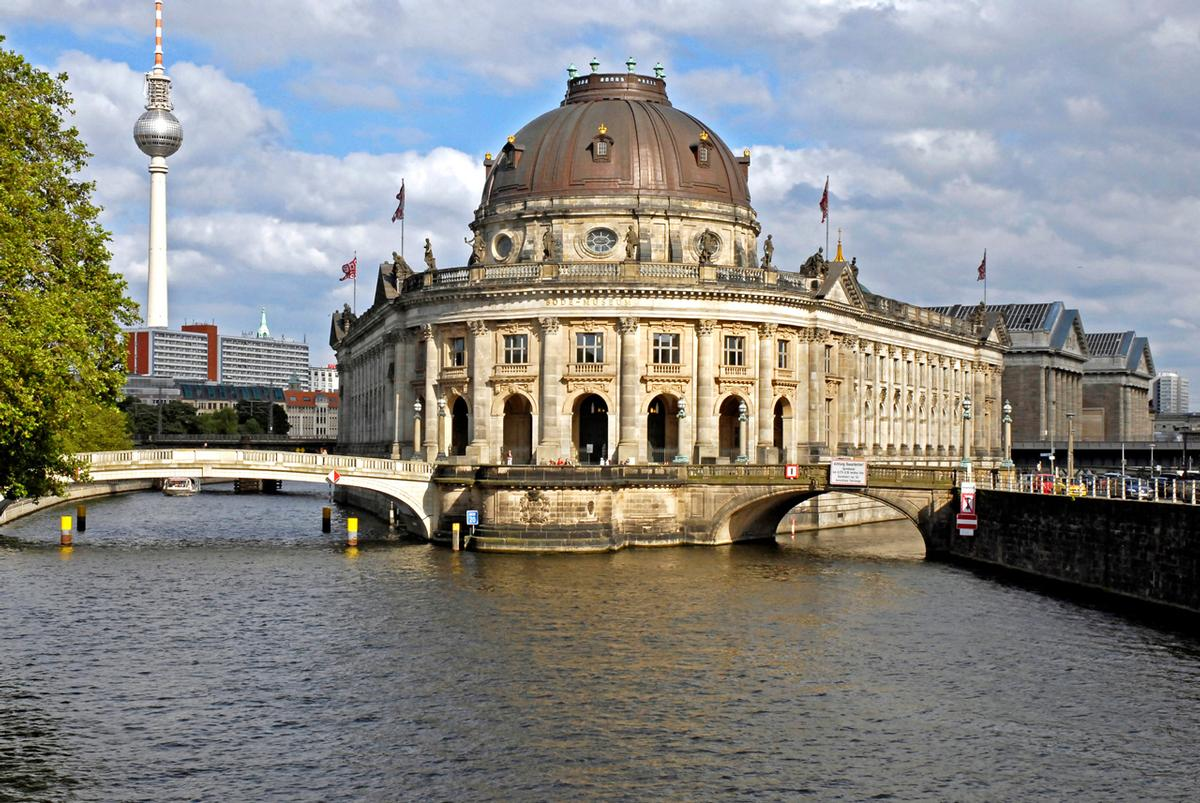 Die Museumsinsel in Berlin