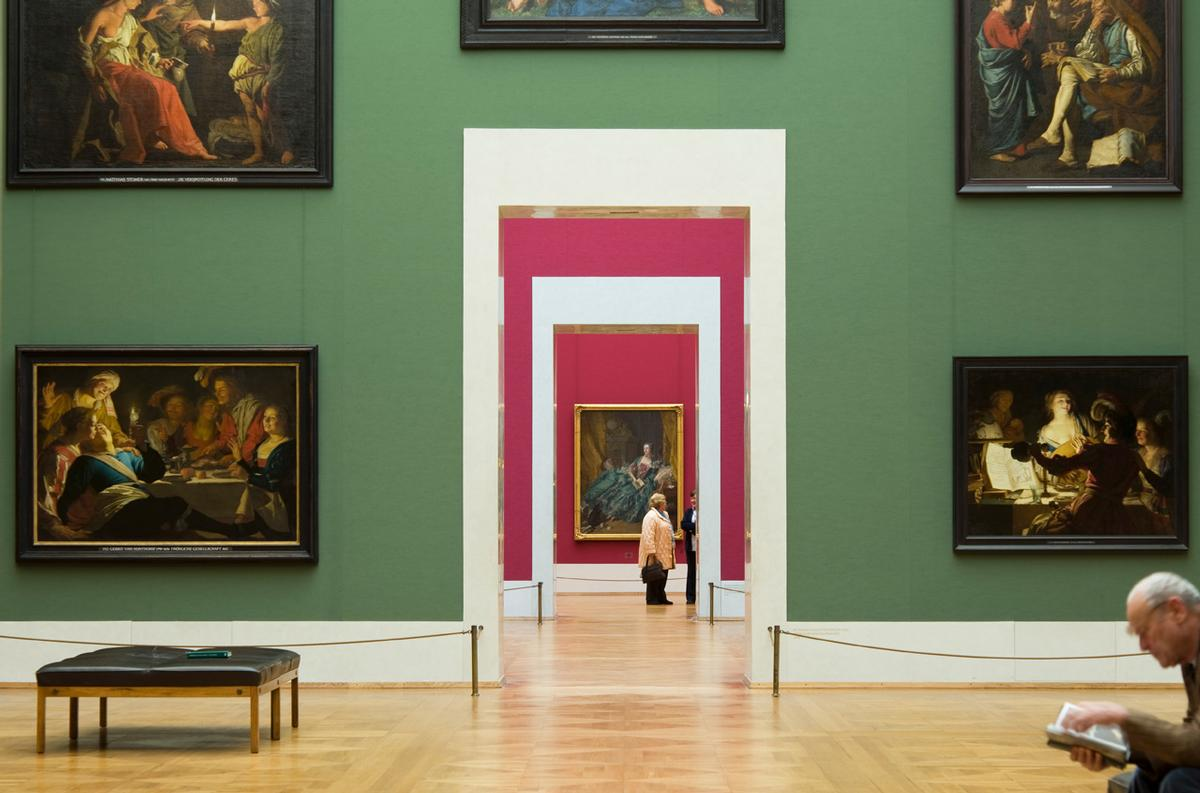Einmal quer durch die Kunstgeschichte