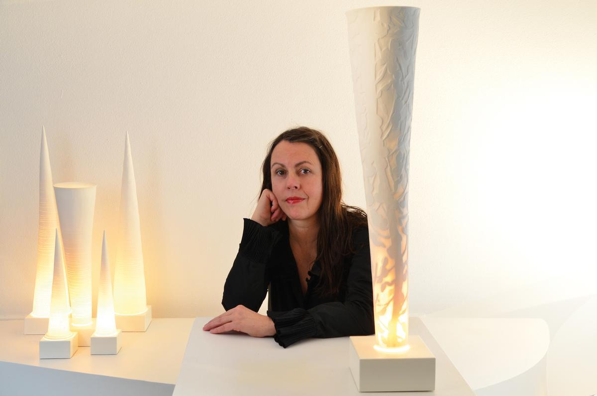 Lichtkunstwerke aus Porzellan