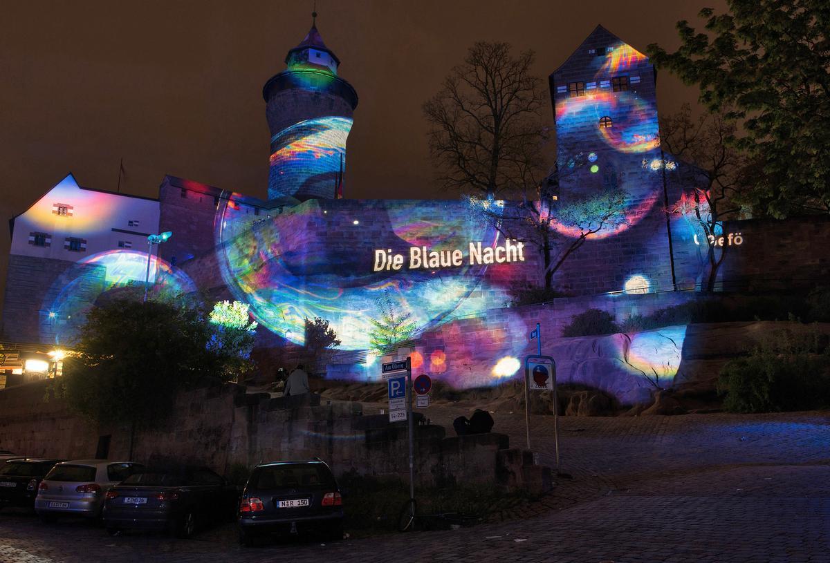 Starke Besucherresonanz bei der Blauen Nacht