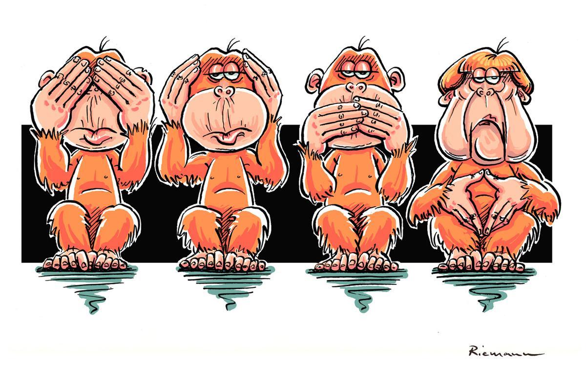 """""""Wir sind ein Witz!"""" Deutscher Karikaturenpreis 2015"""