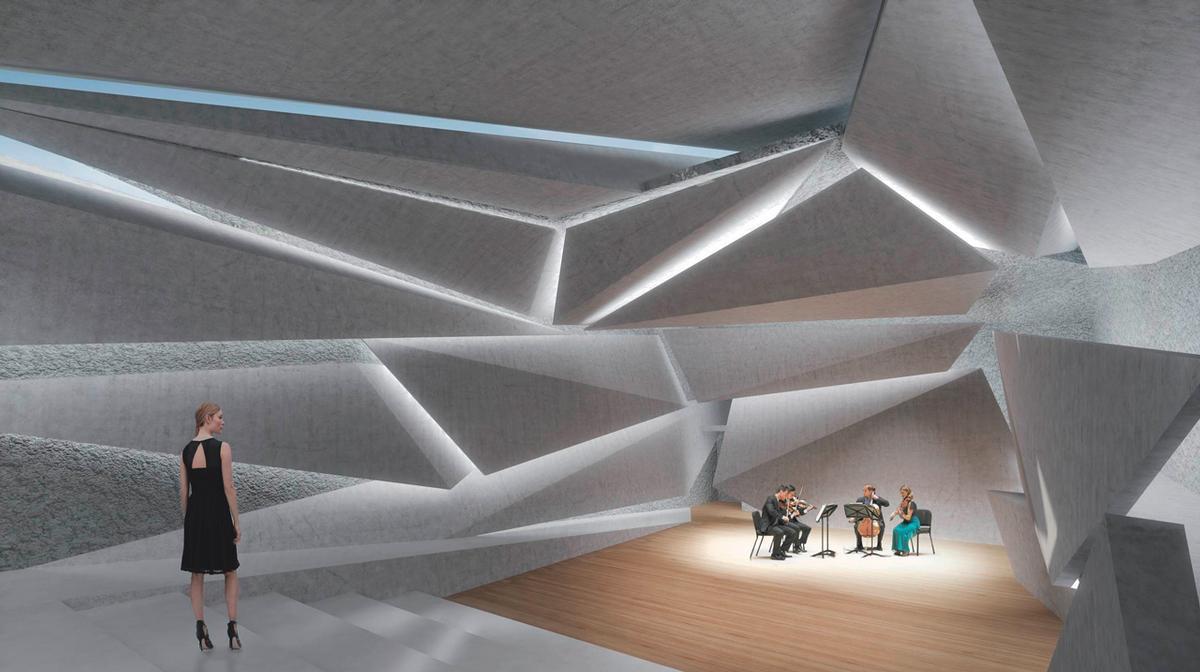 Unterirdischer Konzertsaal