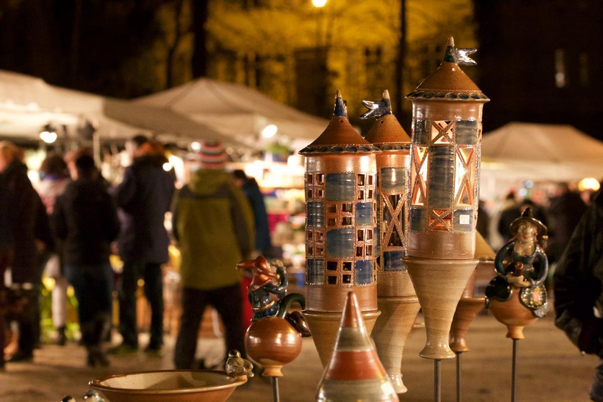 Weihnachtstöpfermarkt Schloss Thurnau