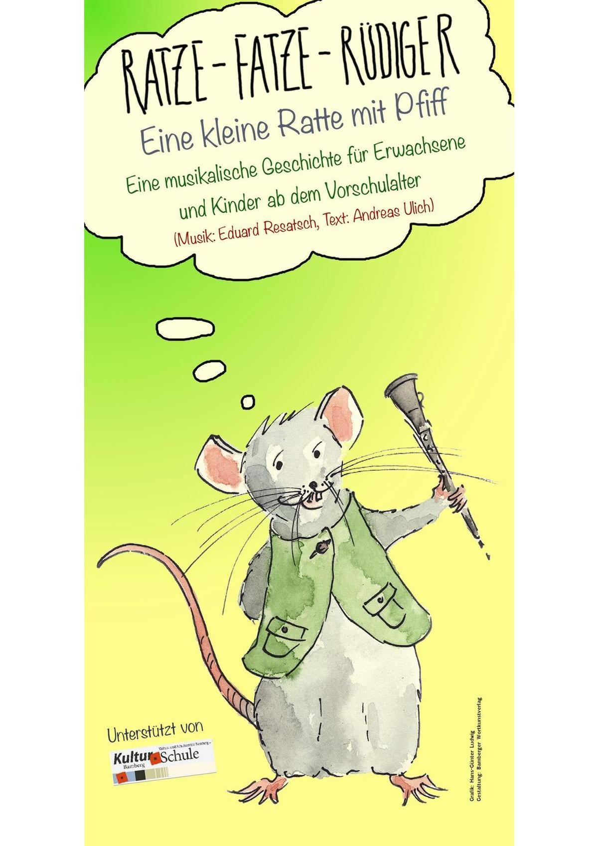 Ratze-Fatze-Rüdiger – Eine kleine Ratte mit Pfiff
