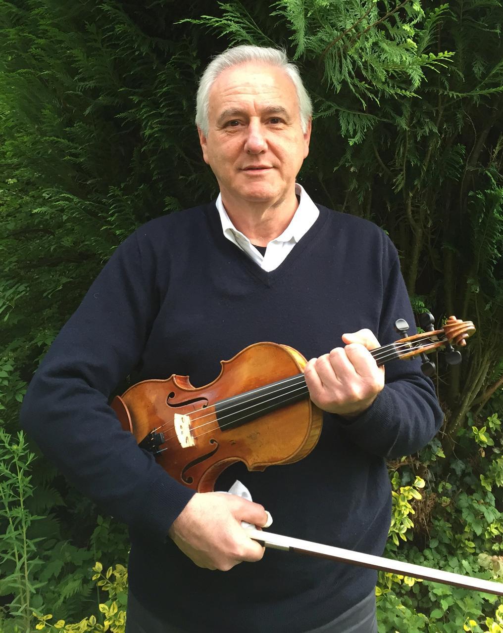 Konzertmeister Peter Rosenberg sagt mit Mozart adieu