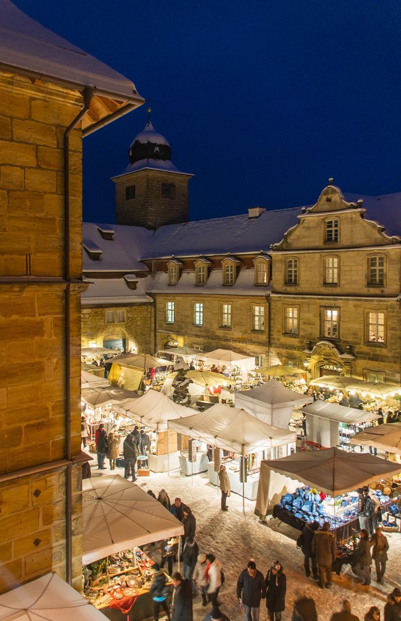 Ein Weihnachtsmarkt mit Tradition