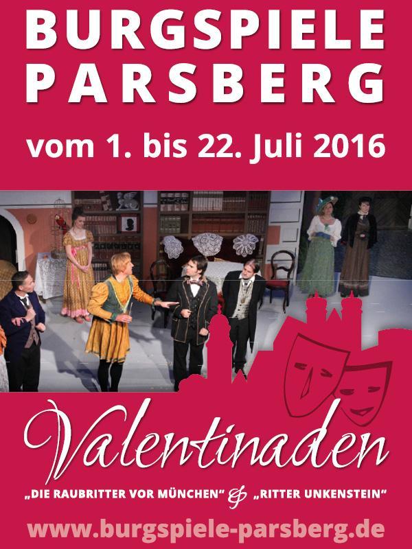 Raubritter auf der Burg Parsberg