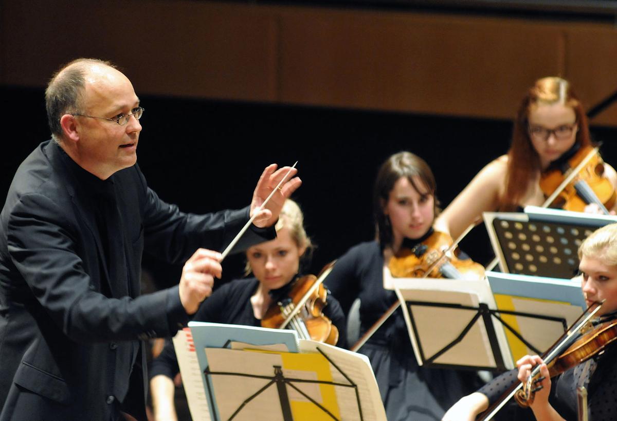 Das Jugendsymphonieorchester  Oberfranken unterwegs
