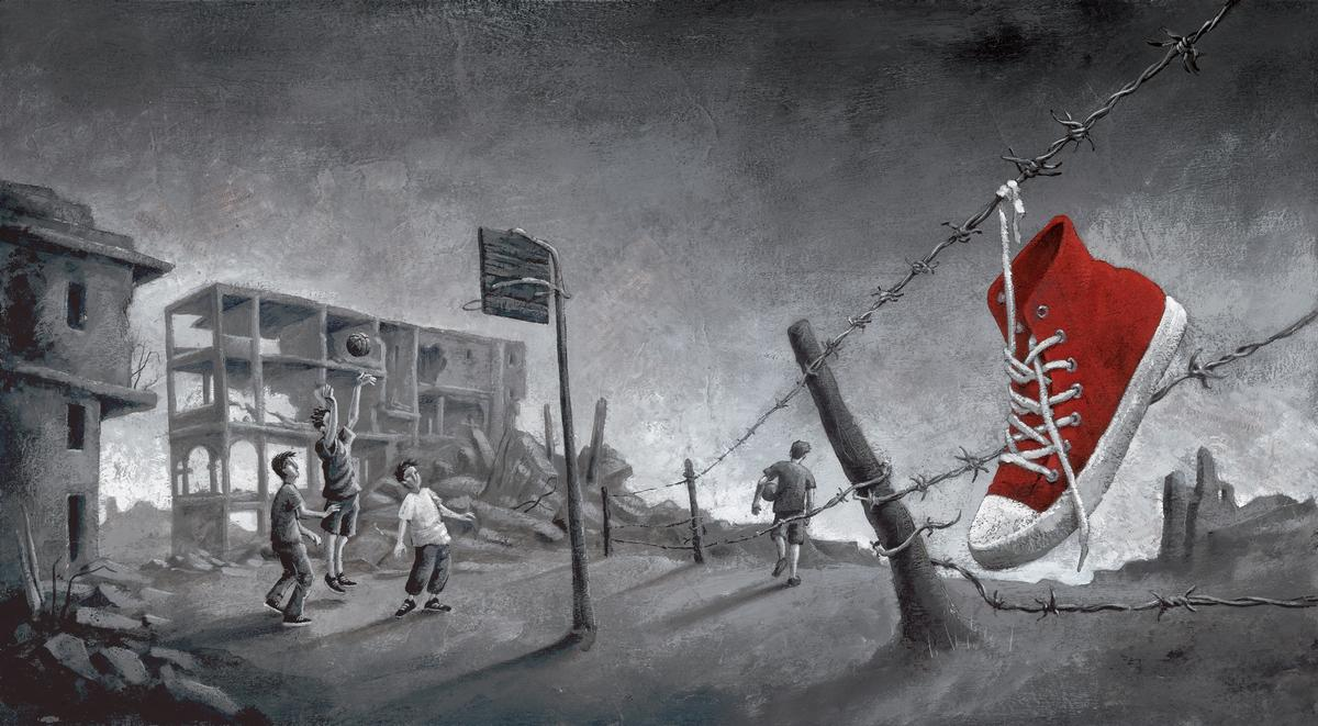 Kindheit im Zweiten Weltkrieg und im Palästinakonflikt