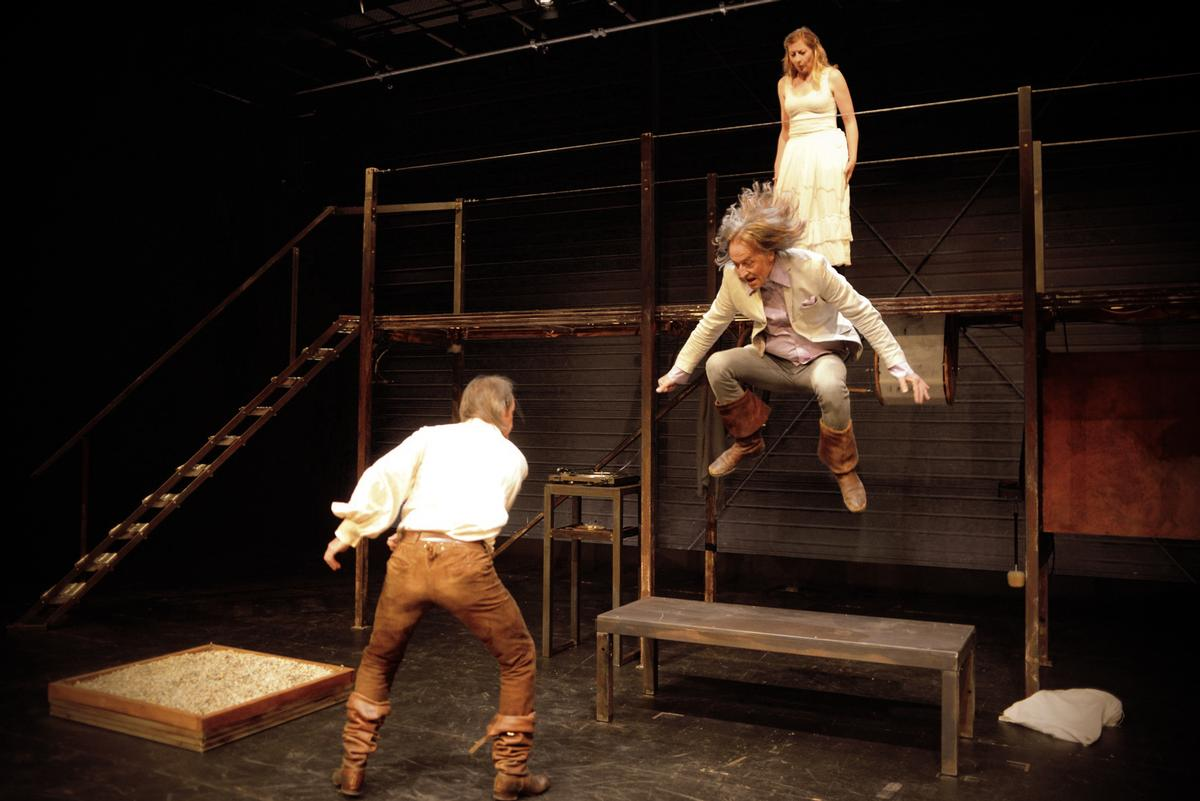 Cyrano und Noah im Theater Pfütze