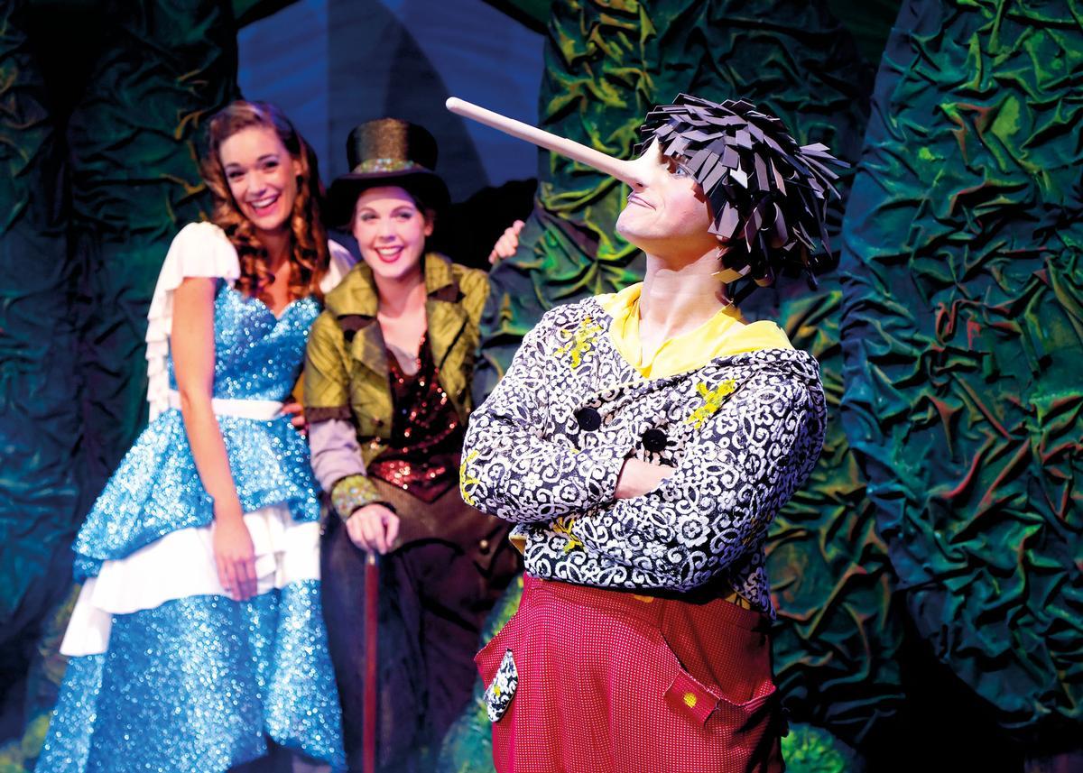 Pinocchios fantastische Reise als Musical