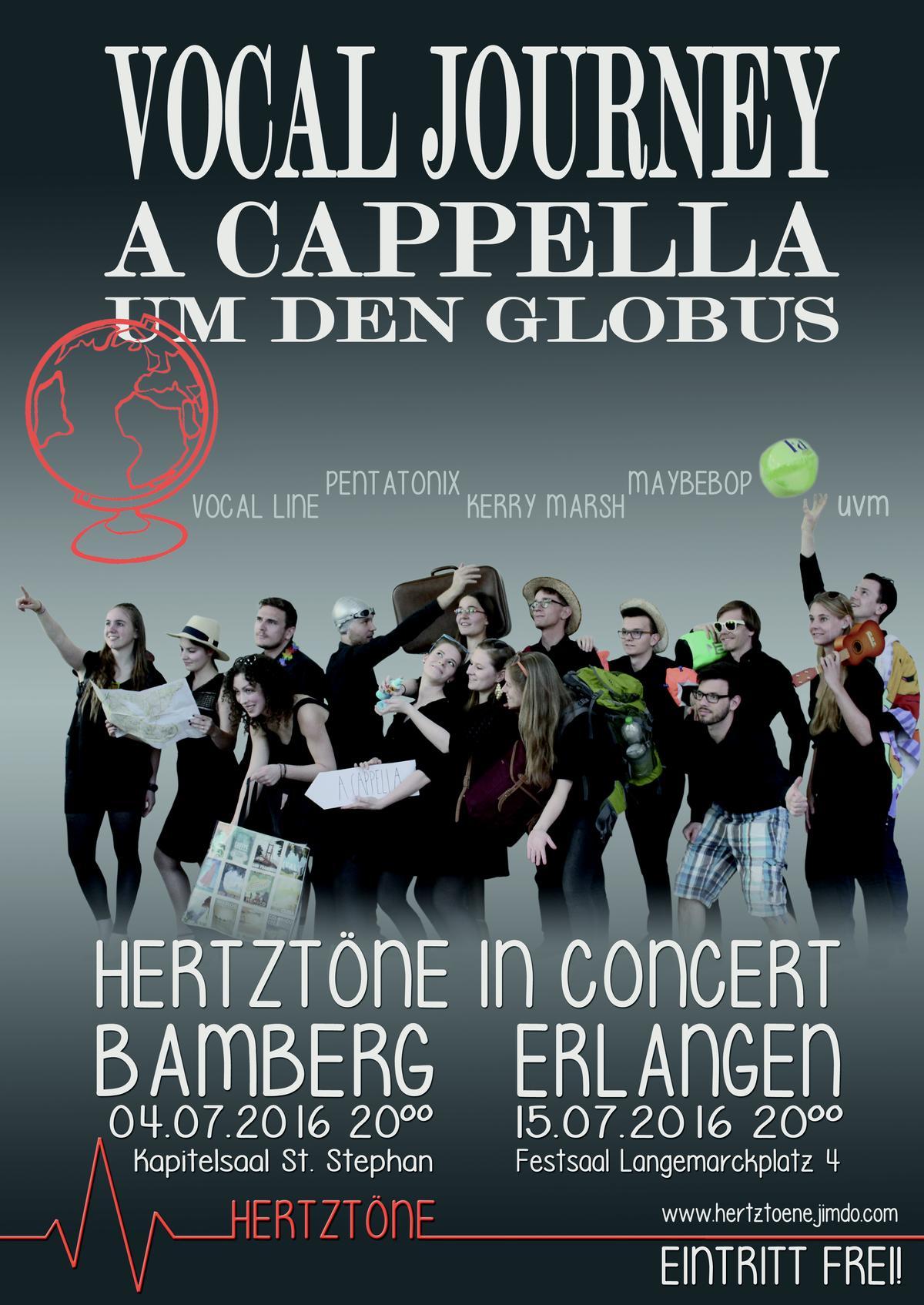 A cappella-Konzert im Kapitelsaal von St. Stephan