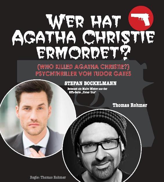 """""""Wer hat Agatha Christie ermordet?"""""""
