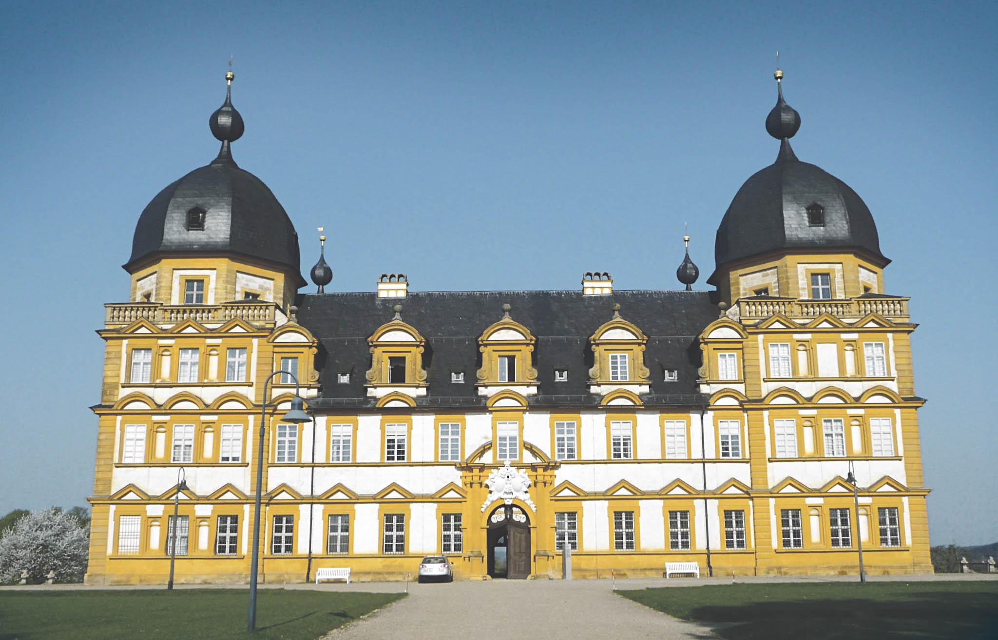 Frühling in Schloss Seehof