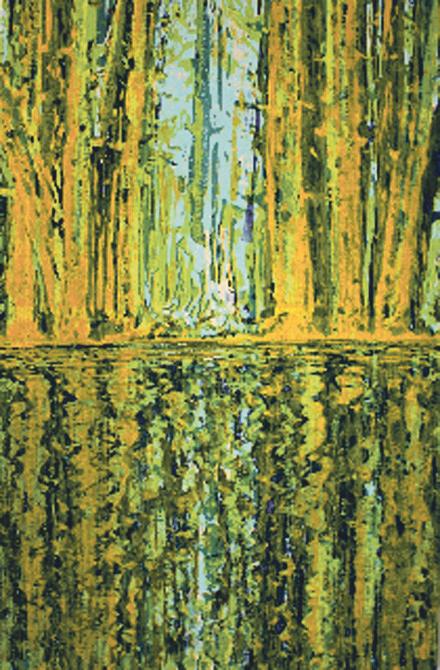 Bäume, Wald- und Seelandschaften