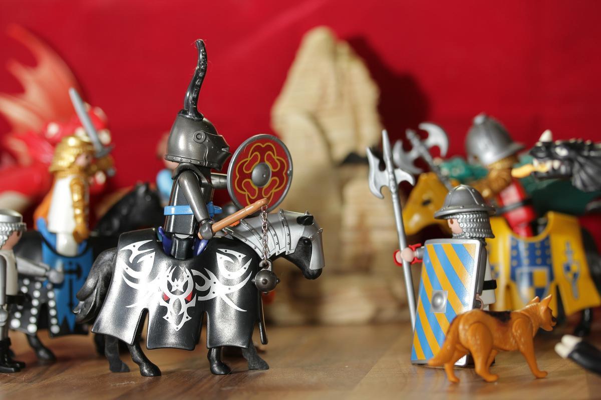 Bestohlener Ritter braucht Hilfe