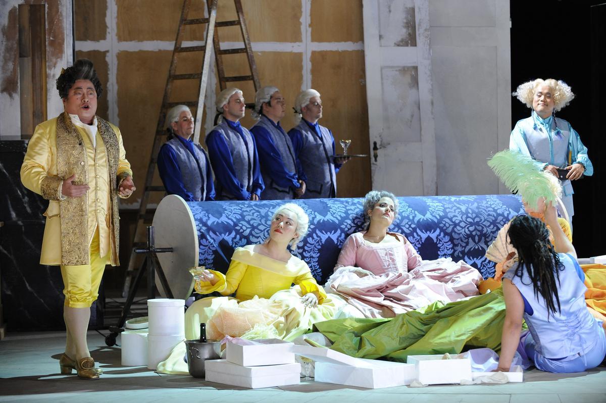 Konzert, Oper und Schauspiel