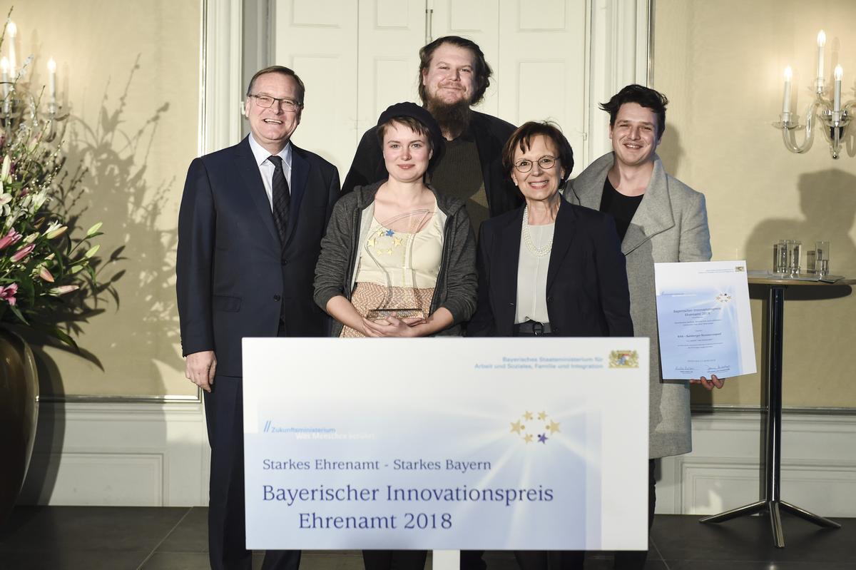 Bamberger Initiative in München ausgezeichnet