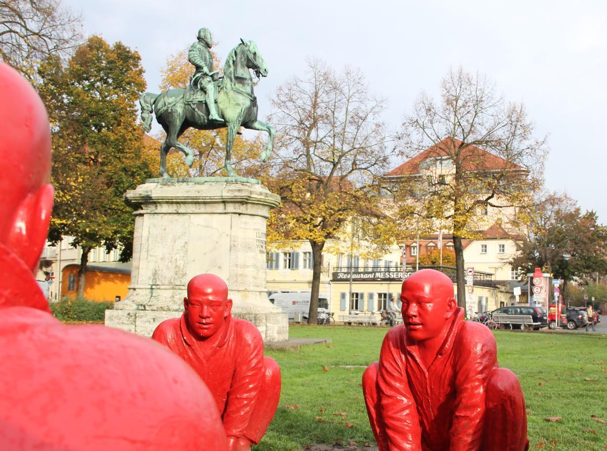 """""""Moderne Kunst in Bamberger Parks und Grünanlagen"""""""