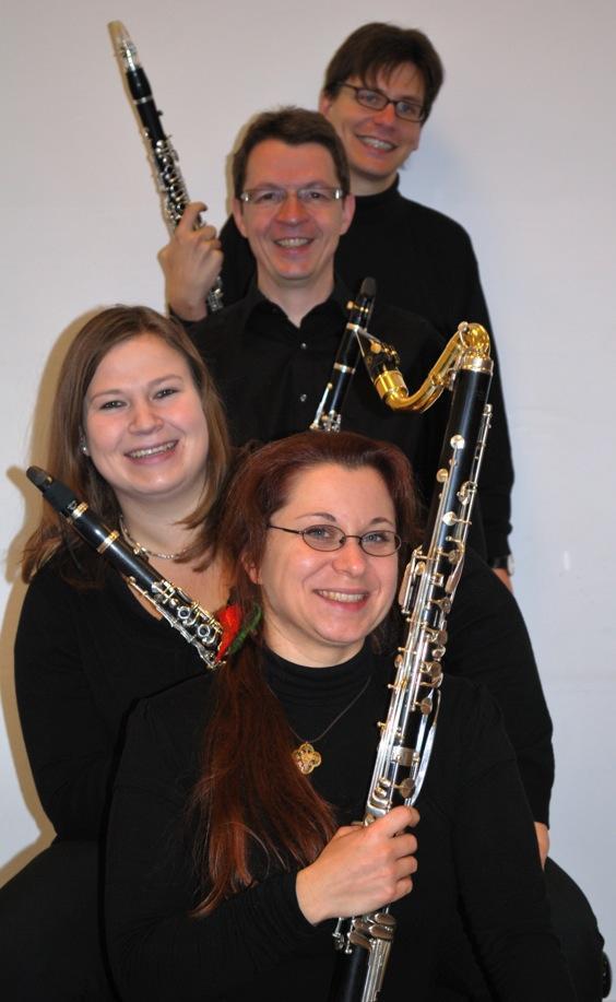 Klarinettenmusik mit dem Ensemble Kunstpause