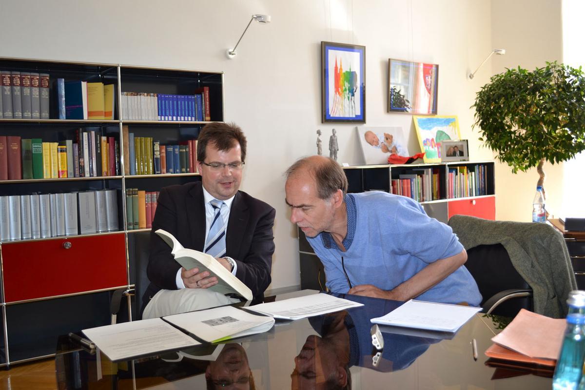 Viel Literatur und Lesungen in Bamberg, der Stadt des Buches