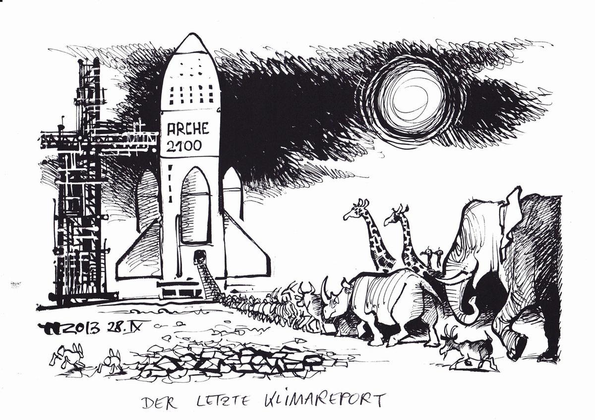 Unverkennbar Haitzinger. Karikatur und Malerei