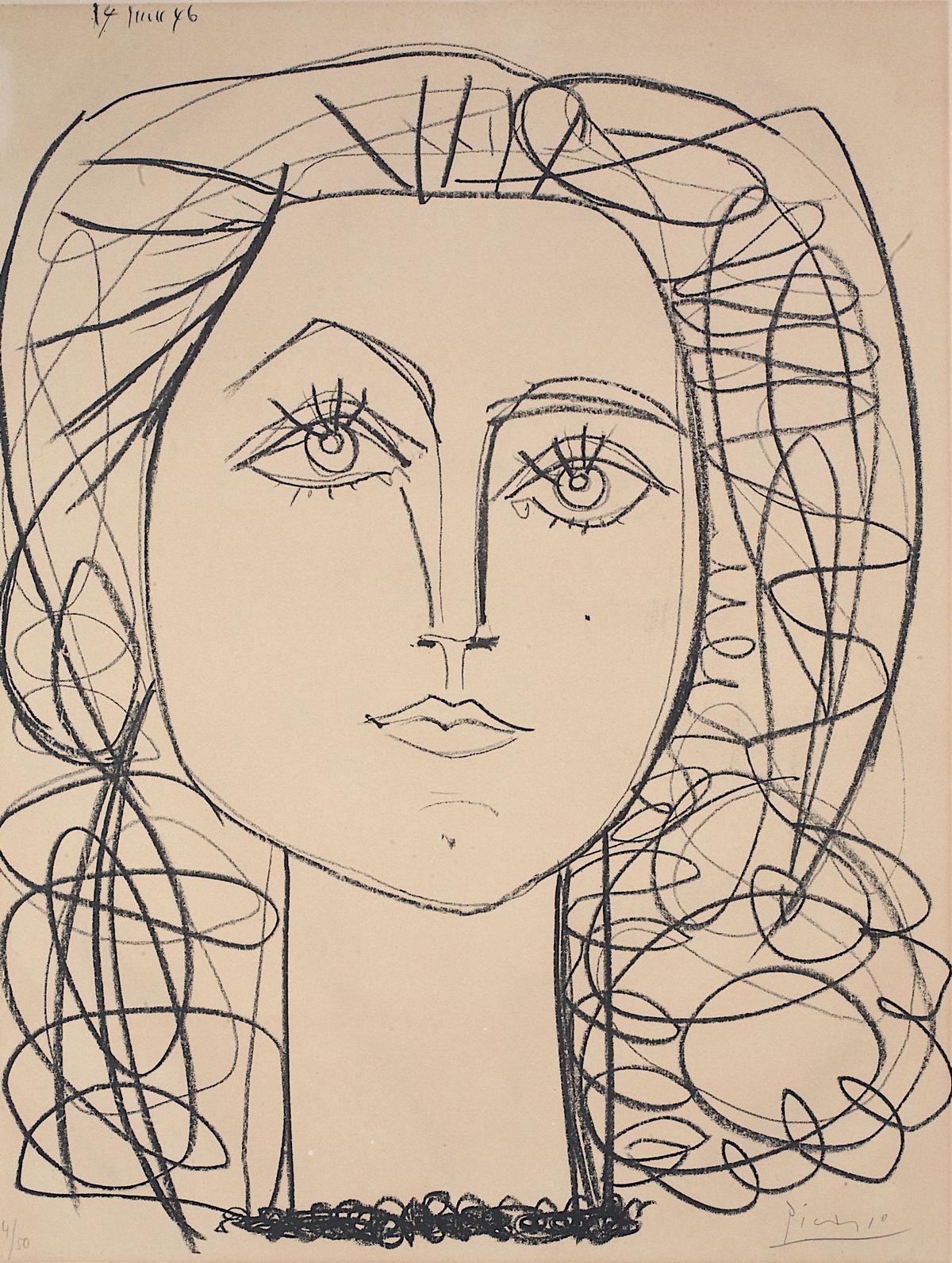 Pablo Picasso im Kulturspeicher