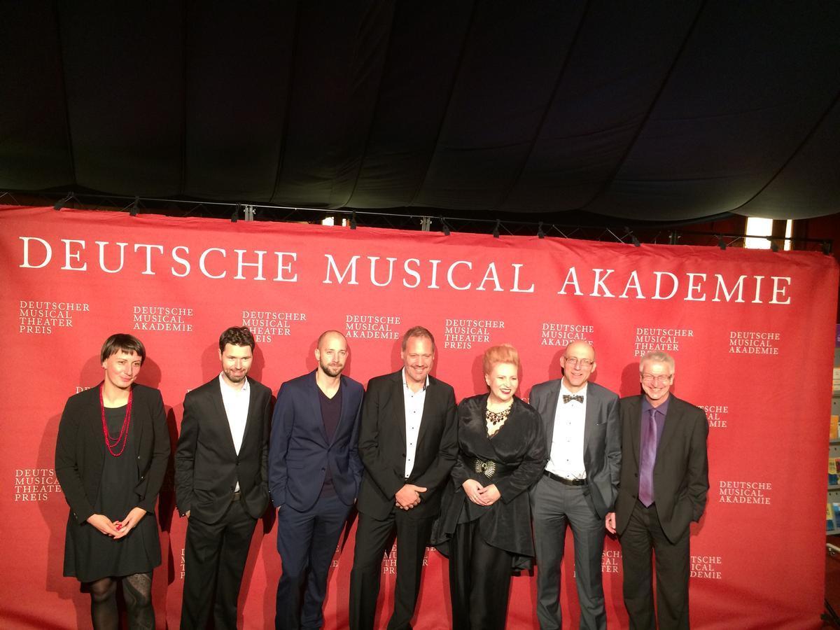 Verleihung des Deutschen Musical Theater Preises 2016