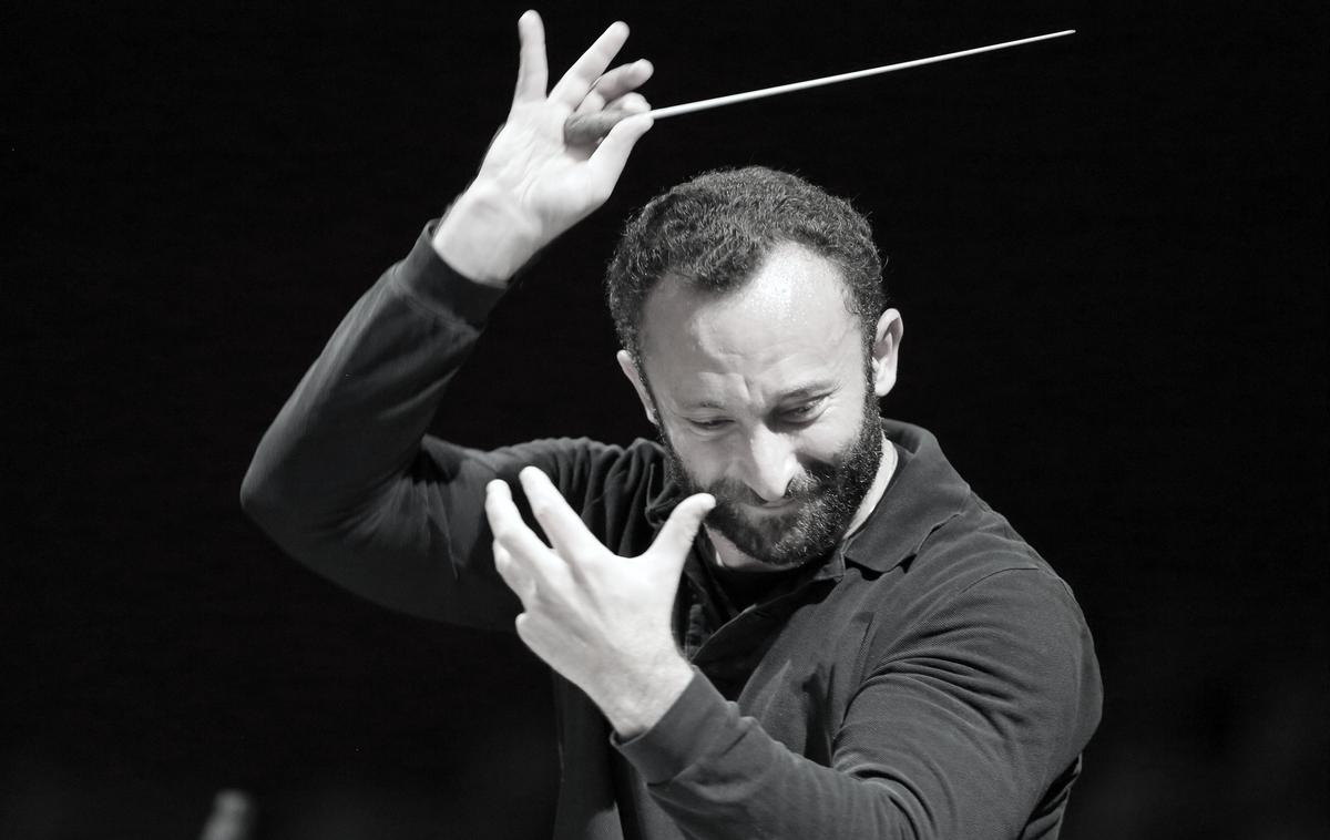"""Ich umarme das ganze Orchester"""