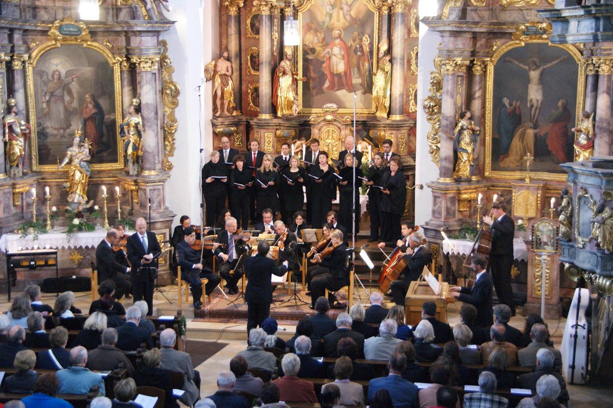 Erstklassische Musik in sakralem Raum