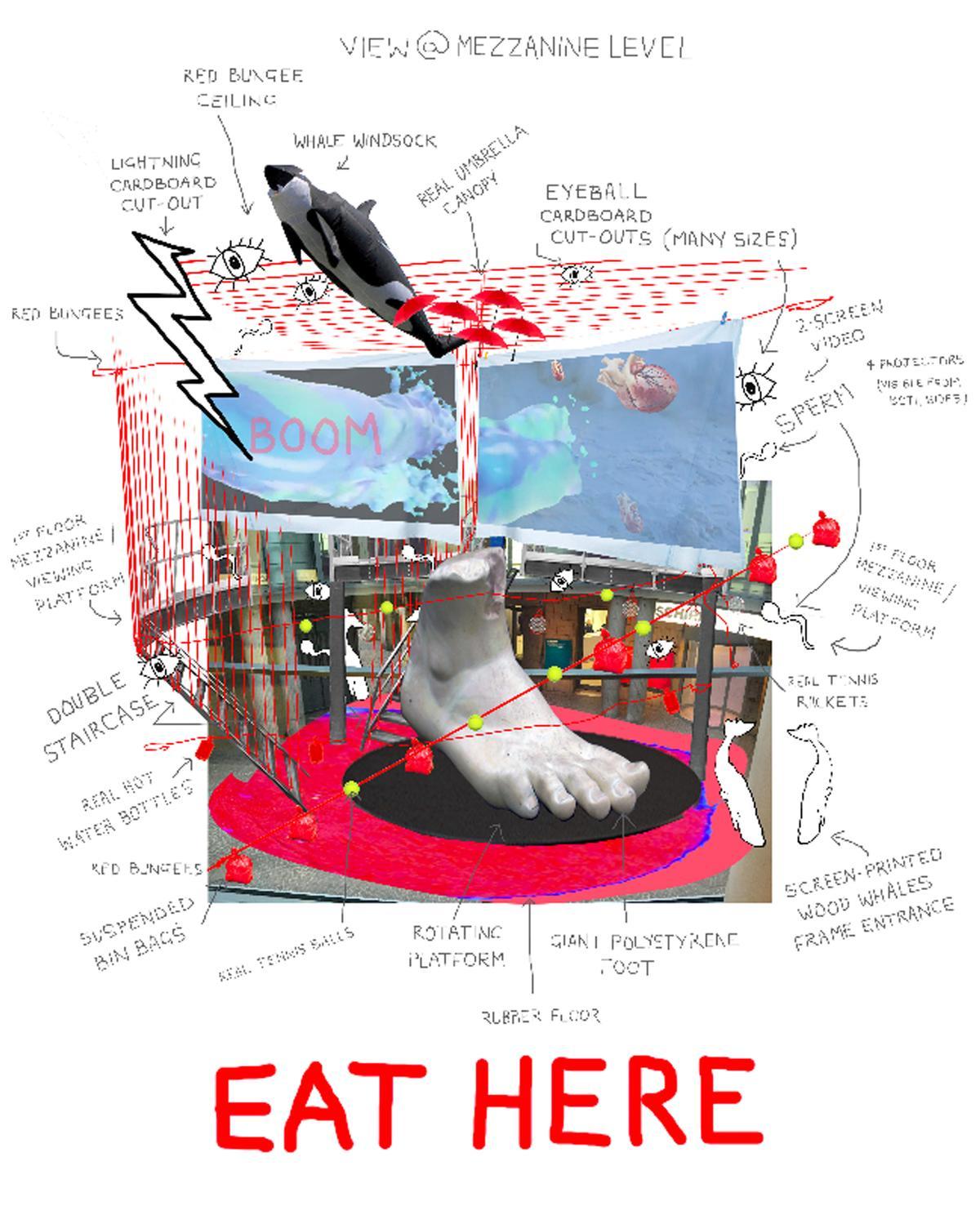 HEATHER PHILLIPSON. EAT HERE