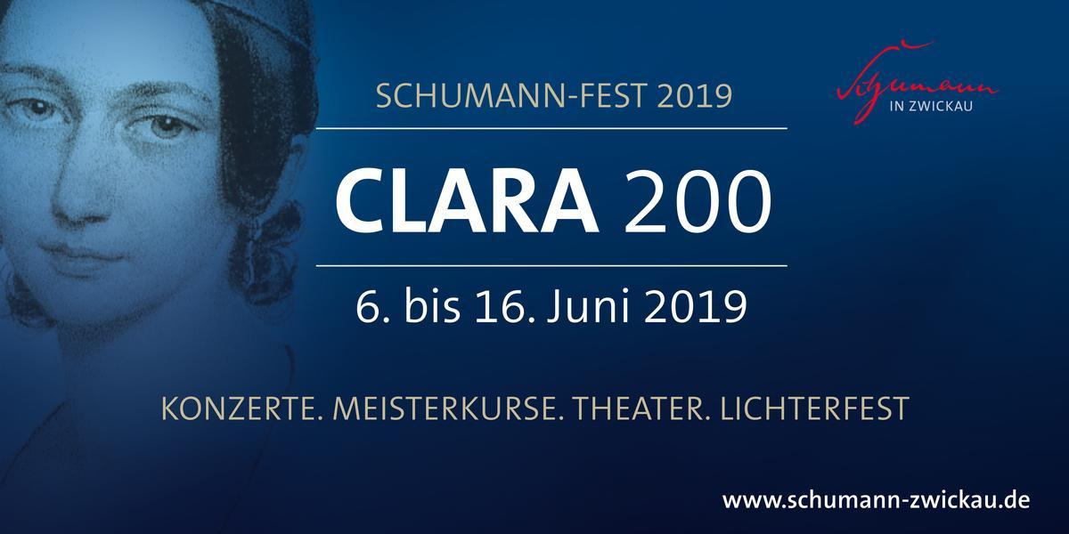 """Schumann-Fest 2019 """"CLARA 200"""""""