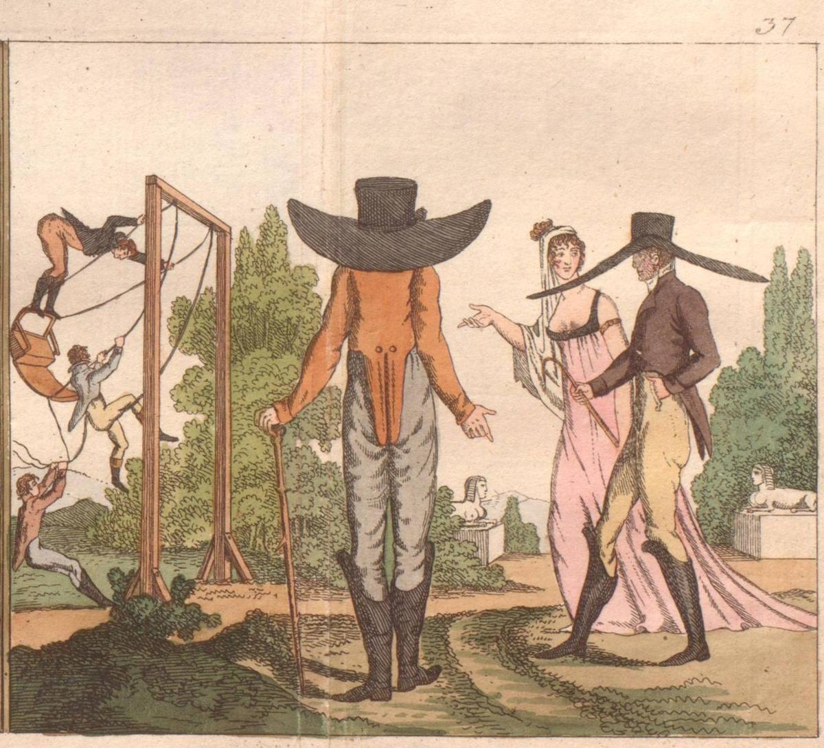 Mode in Bildern des 19. Jahrhunderts