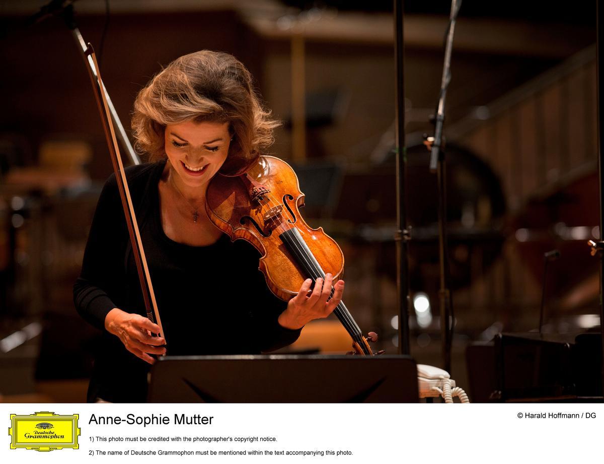 Anne-Sophie Mutter macht Jean Sibelius
