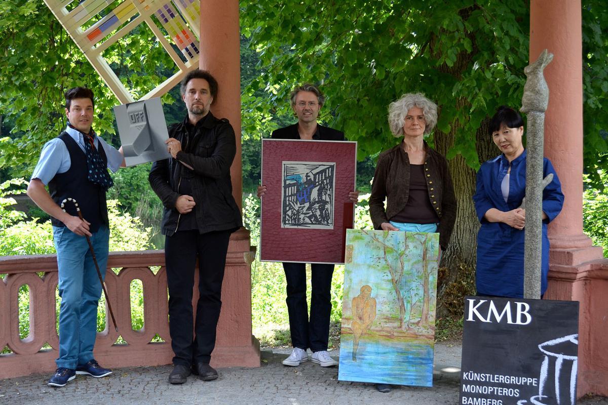 Zeitgenössische Kunst im Bamberger Hain