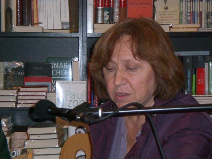 Literaturnobelpreis für Swetlana Alexijewitsch